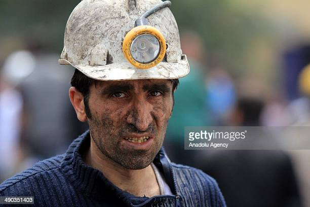 Search and rescue works continue after the fire in coal mine in Soma, Manisa, Turkey on 14 May, 2014.