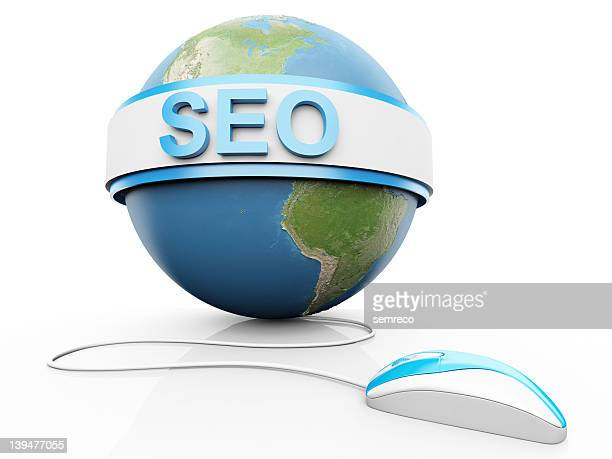 Search engine optimization around a globe