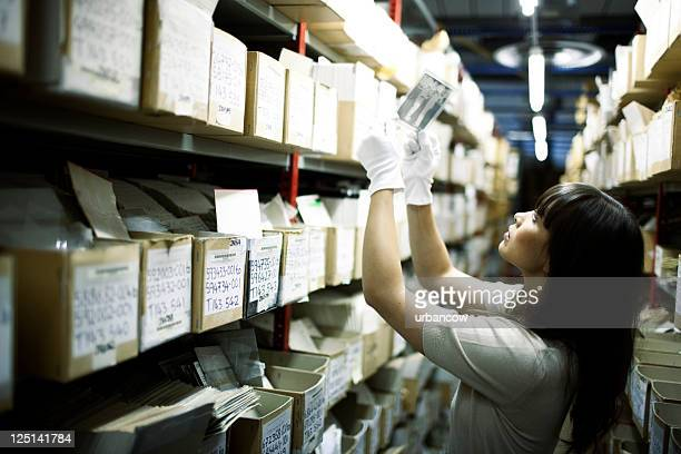 searching archives. - archives stock pictures, royalty-free photos & images