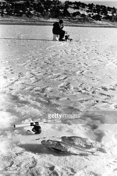 JAN 11 1979 Searching Brush Hollow For A Variety Of Fish Bass crappie in foreground are examples of icefishing fare