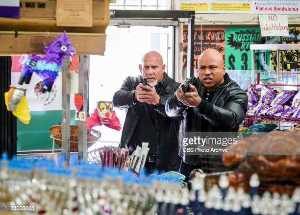 Searching Pictured Bill Goldberg and LL COOL J Department of Justice Agent Lance Hamilton asks Sam for assistance in locating a former US border...