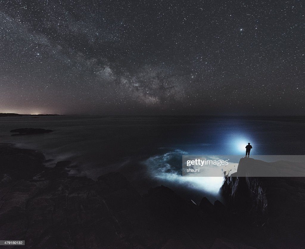 Searching the Atlantic : Stock Photo