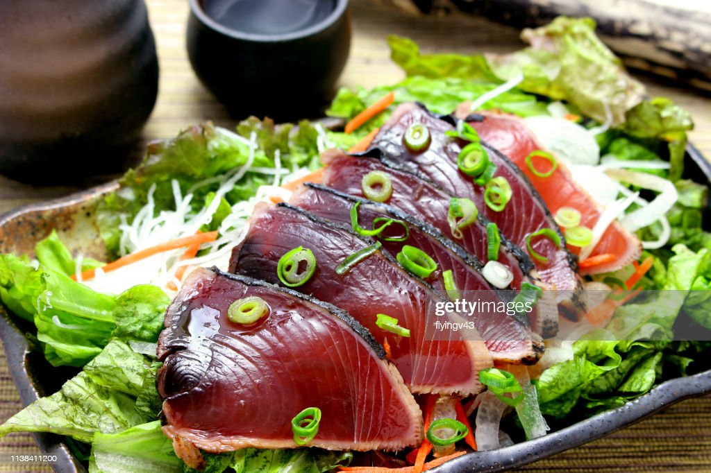 Seared Bonito : Stock Photo