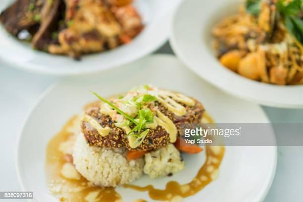 Seared Furikake Tuna