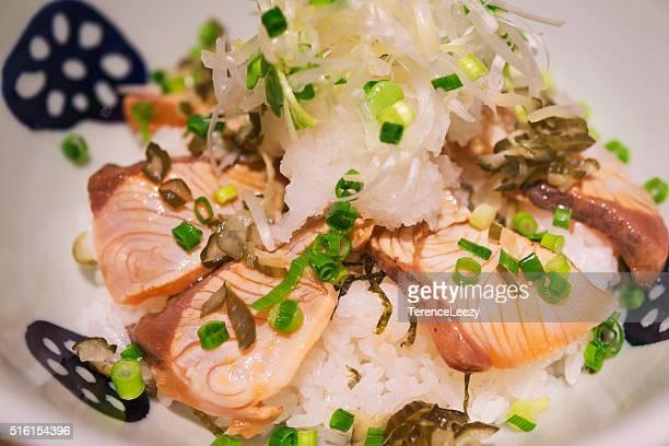 Seared Salmon Rice