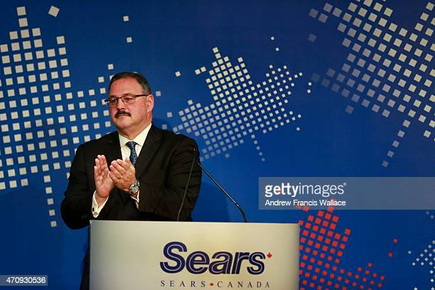 Sears Canada CEO Ron Boire during annual general meeting at the companies Toronto Eaton Centre offices