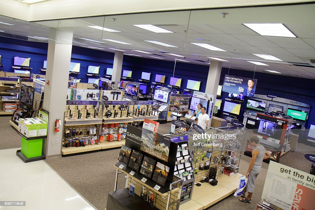 Sears electronics in Aventura Mall. Pictures | Getty Images