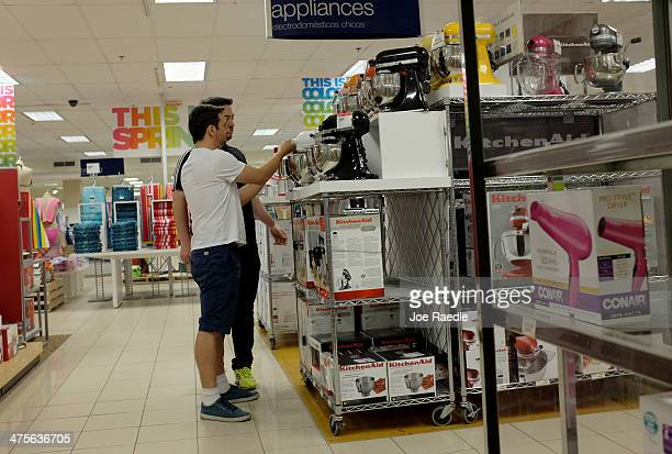 Sears store is seen on February 28 2014 in Coral Gables Florida According to reports the US Secret Service is investigating a possible digital attack...