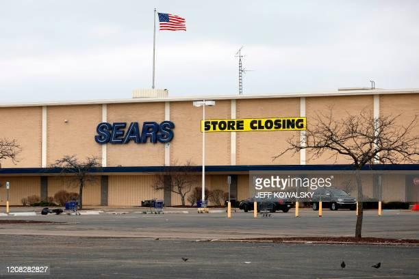 Sears store that is going out of business in Livonia, Michigan on March 26, 2020.