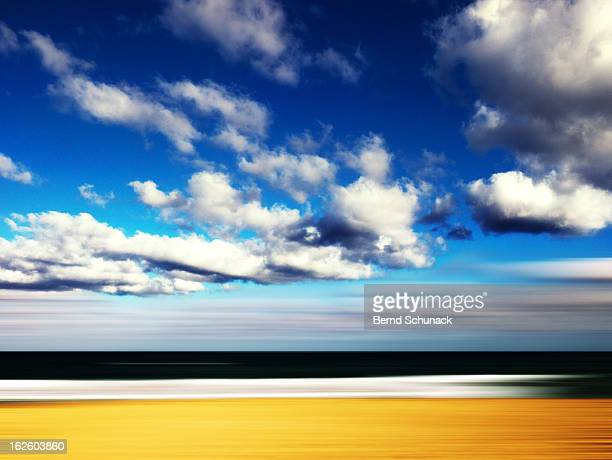 seascape abstract - bernd schunack stock photos and pictures