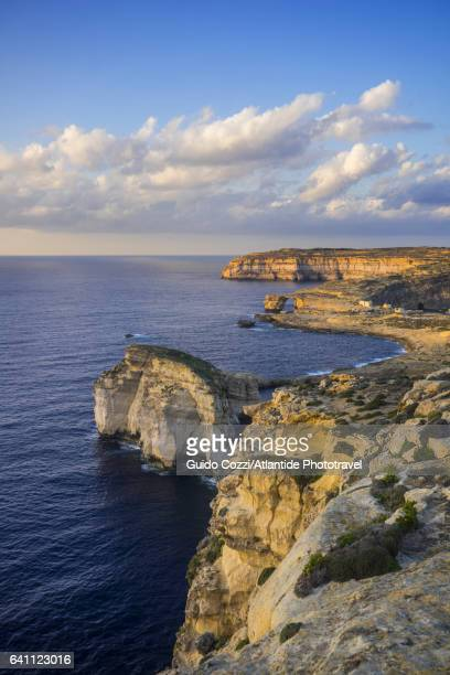 Seascape at Azure Window natural arch, near St Lawrence