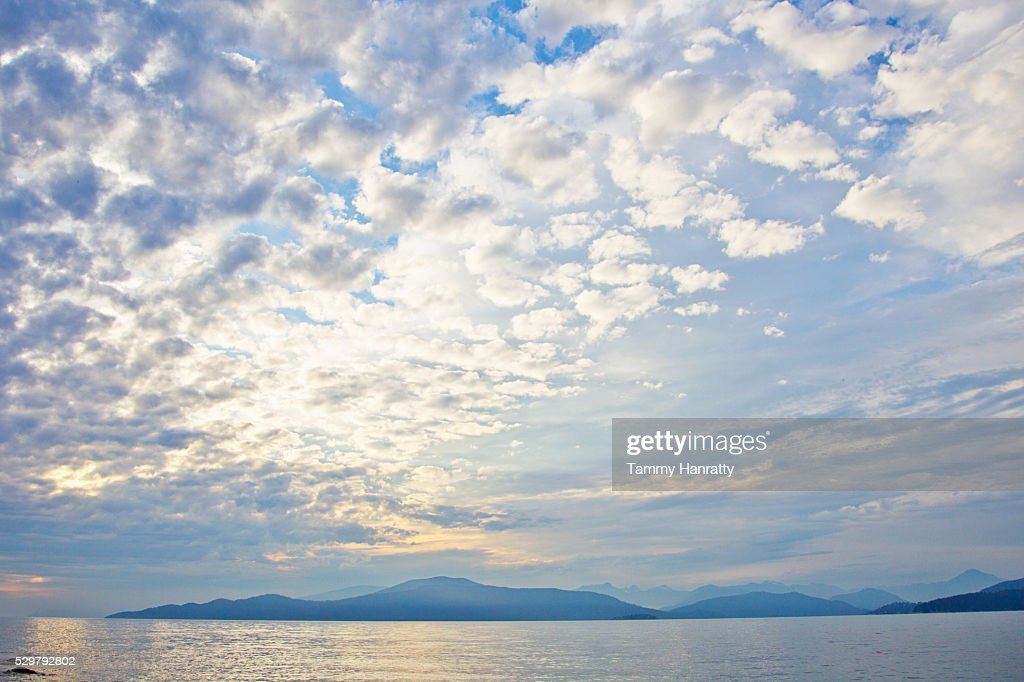 Seascape at sunrise : Stock Photo