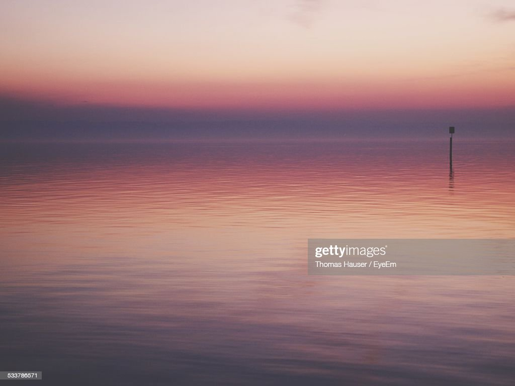 Seascape At Sunset : Foto stock