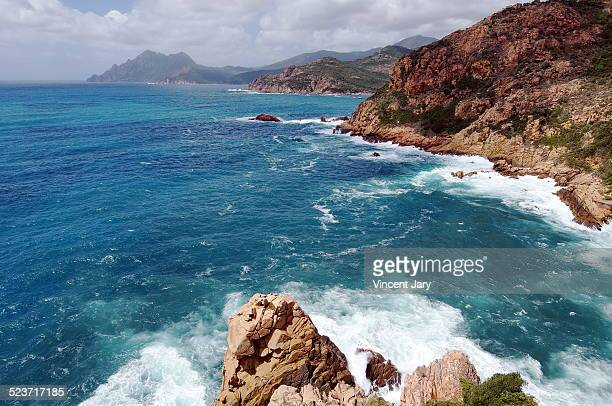 Seascape Corsica island