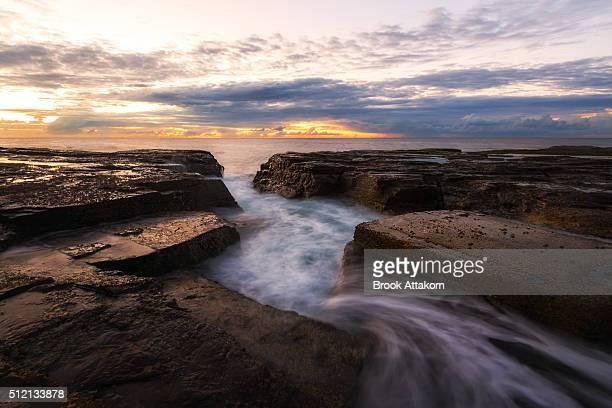 Seascape flow.