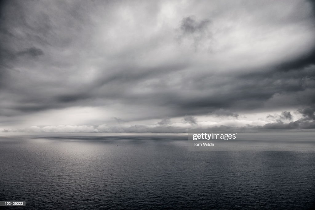 Seascape France : Stock Photo