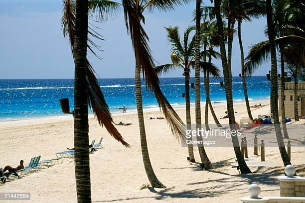 Seascape from Elbow beach, Bermuda