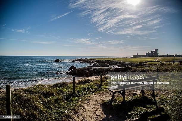 seascape in brittany - concarneau stock-fotos und bilder