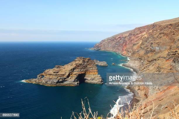 Seascape near Santo Domingo de Garafía in La Palma island, Canary islands. Spain