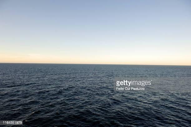 seascape near seydisfjördur, east iceland - austurland stock-fotos und bilder