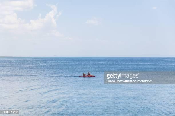 seascape near tagliata etrusca, ansedonia - orbetello imagens e fotografias de stock
