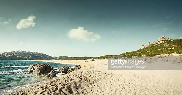 seascape of corsica french island - corcega fotografías e imágenes de stock