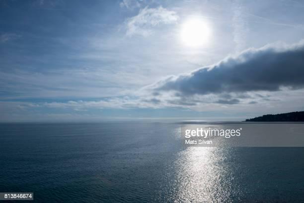 Seascape Over Mediterranean Sea