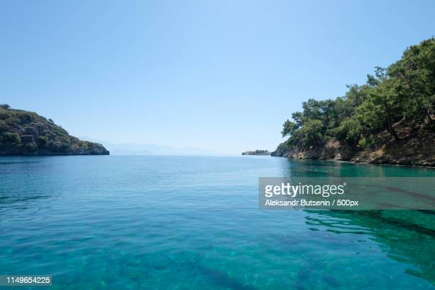 seascape - mugla province stock pictures, royalty-free photos & images