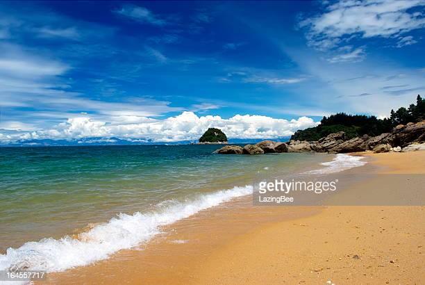 Seascape, Split Apple Rock Beach, New Zealand