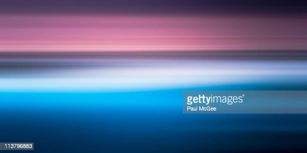 Seascape Sunrise Abstract