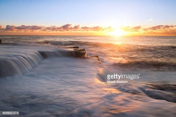 Seascape sunrise.