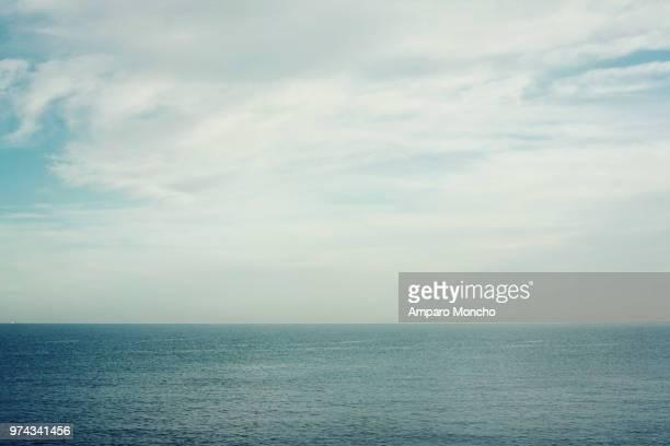 Seascape with clouds, Javea, Spain
