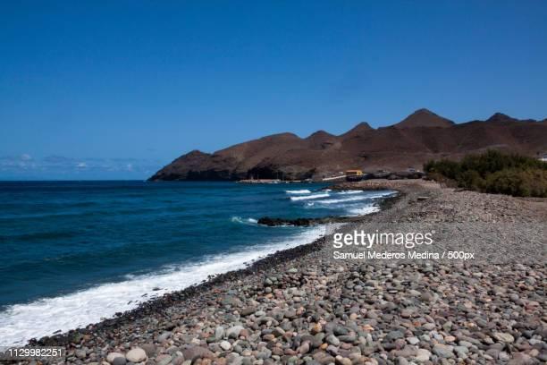 Seascape with coastline, Gran Canaria, Spain