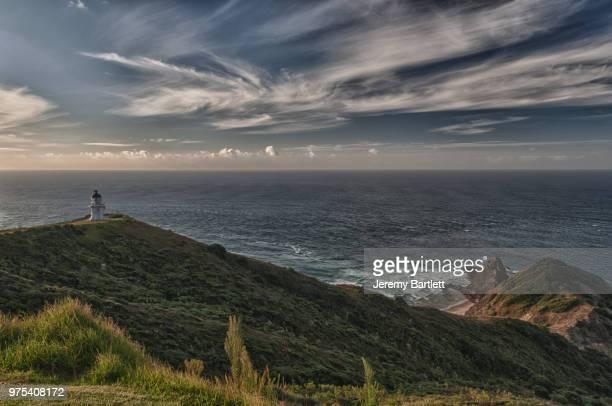 Seascape with lighthouse, Cape Reinga, New Zealand