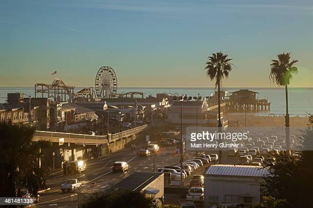 Seashore amusement park