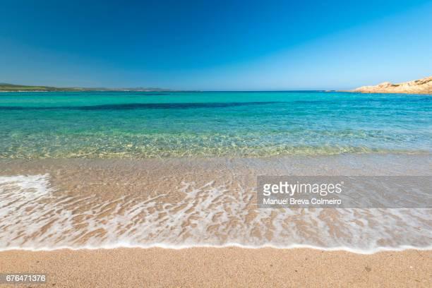seashore in sardinia - costa smeralda stock pictures, royalty-free photos & images