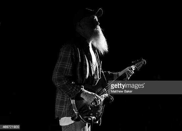 Seasick Steve Performs at Eventim Apollo on April 14 2015 in London United Kingdom