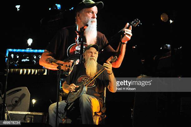 Seasick Steve performs at O2 Academy Sheffield on April 16, 2015 in Sheffield, United Kingdom.