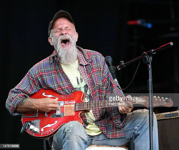 Seasick Steve performs at the Cornbury Music Festival at Great Tew Estate on July 1 2012 in Oxford England