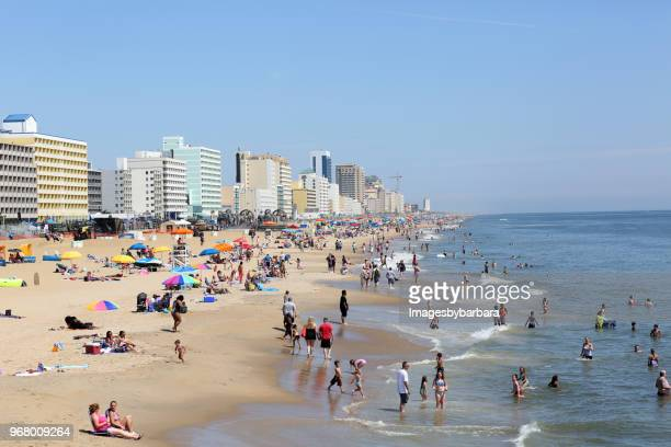 Virginia Beach Stock Pictures Royalty
