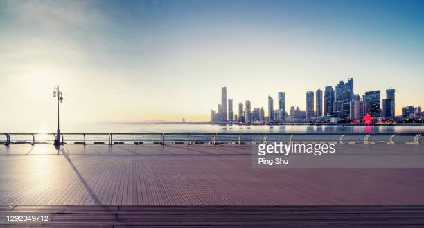 seaside city - qingdao stock pictures, royalty-free photos & images