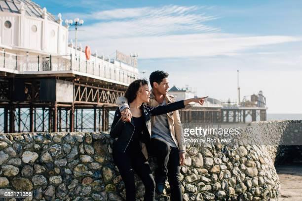 Seaside couples