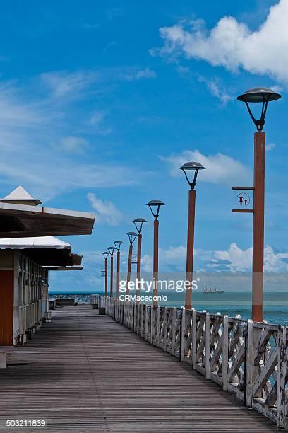seaside in fortaleza - crmacedonio stockfoto's en -beelden