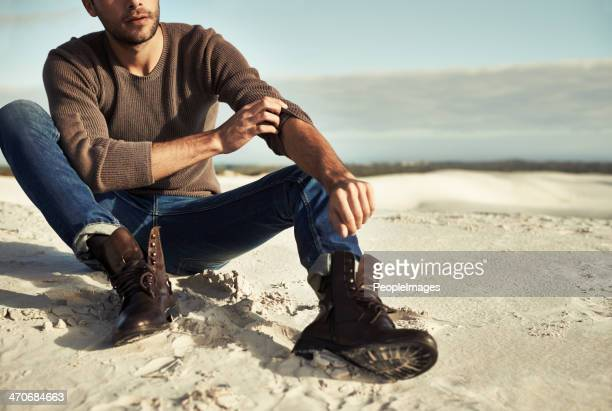 seaside moments - male model stock photos and pictures