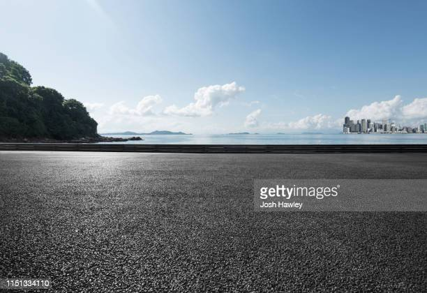 seaside parking lot - observation point stock pictures, royalty-free photos & images