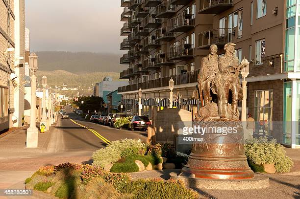 seaside - meriwether lewis stock photos and pictures