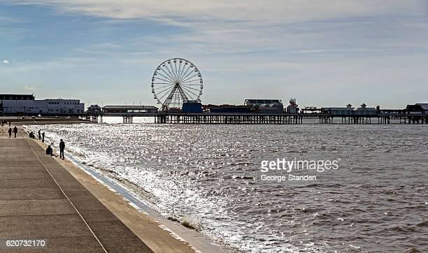 Seaside Pier Blackpool