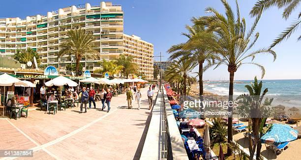 Seaside Promenade in Marbella