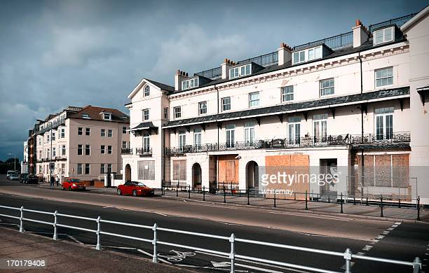 seaside resort in decline - portsmouth england stock pictures, royalty-free photos & images