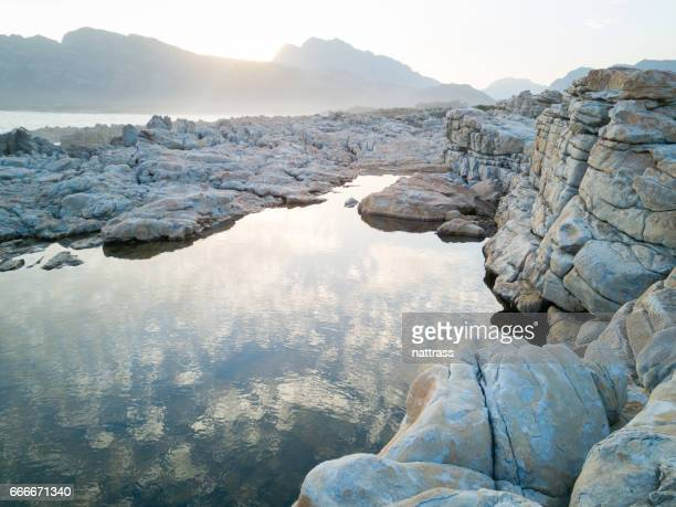 Seaside rock pools